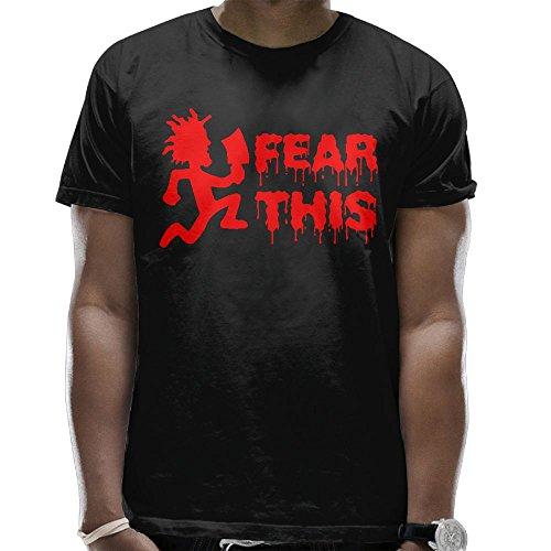 WeiGo T-shirts Men's Hatchet Man Fear This Casual T-Shirt Tee Shirt
