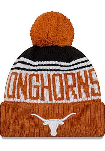 Texas Longhorns Beanie - 289c Texas Longhorns Team Pride Pom Knit Beanie - Texas Orange,