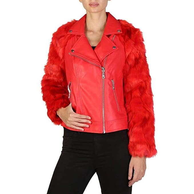 GUESS Chaqueta W74L10R72Y1 Mujer Color: Rojo Talla: S