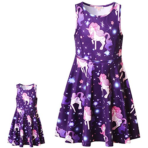 Unicorn Dresses for 18 inch Dolls American Girl Clothes and -