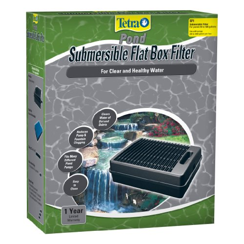 TetraPond Submersible Flat Box Filter - Submersible Pond Filter