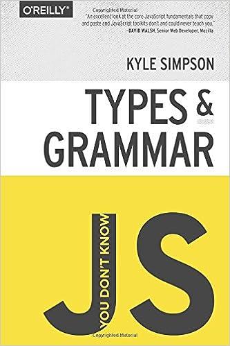 YDKJS: Types & Grammar