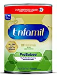 Enfamil ProSobee Soy-Based Infant Formula - Lactose Free for Sensitive Tummies - Concentrated Liquid Can, 13 fl oz (Pack of 12)
