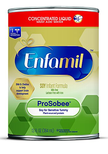 Enfamil ProSobee Soy Infant Formula, Concentrated Liquid,...