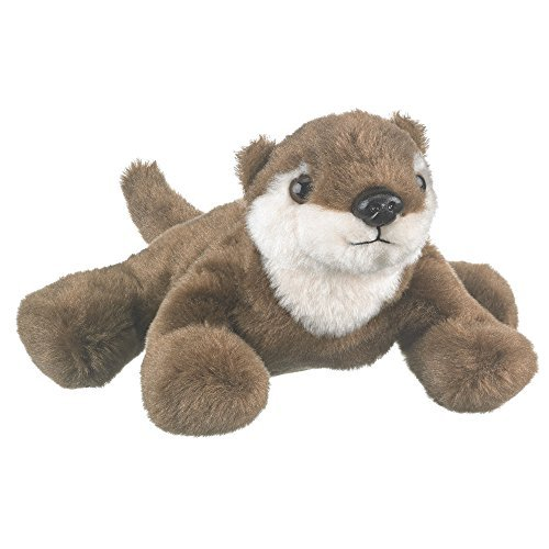 Play Critters Wildlife Artists River Otter Plush Finger Puppet Toy, 7