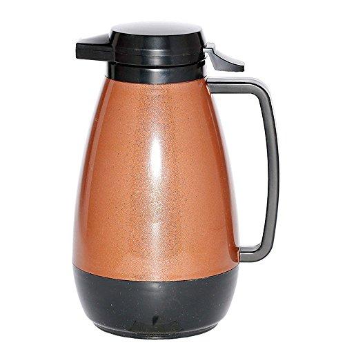 Service Ideas PB101CB Thermo-Serv 1 Liter Copper with Black Server