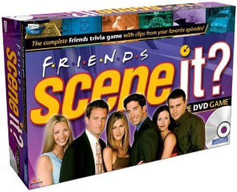 Mattel - Scene It? Amigos DVD Game [Importado de Inglaterra]: Mattel - Scene It? Friends DVD Game: Amazon.es: Juguetes y juegos