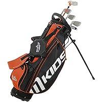 MKids Right Stand Bag Set - Orange, 49-Inch
