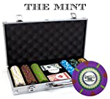 Claysmith Gaming 300-Count The Mint Poker Chip Set Aluminum Case (Small Image)