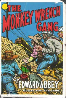 book cover of The Monkey Wrench Gang