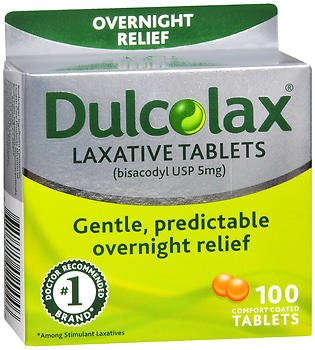 Dulcolax Laxative Tablets - 100ct, Pack of 5