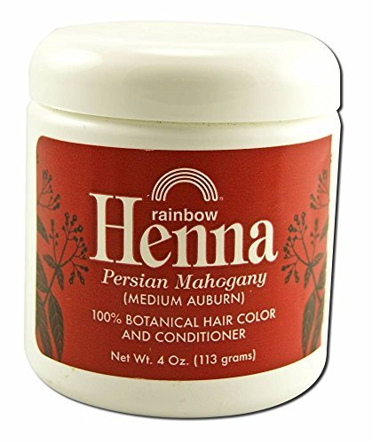 Henna (Persian) - Medium Auburn, Mahogany, 4 oz ( Pack of 2)