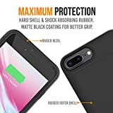 iPhone 8 Plus/7 Plus Battery Case, 5000mAh Slim