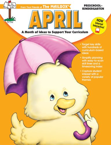 April Monthly Idea Book -