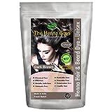 2 Packs of Dark Brown Henna Hair and Beard Color/Dye 150 Grams - Chemical Free Hair Color - The Henna Guys