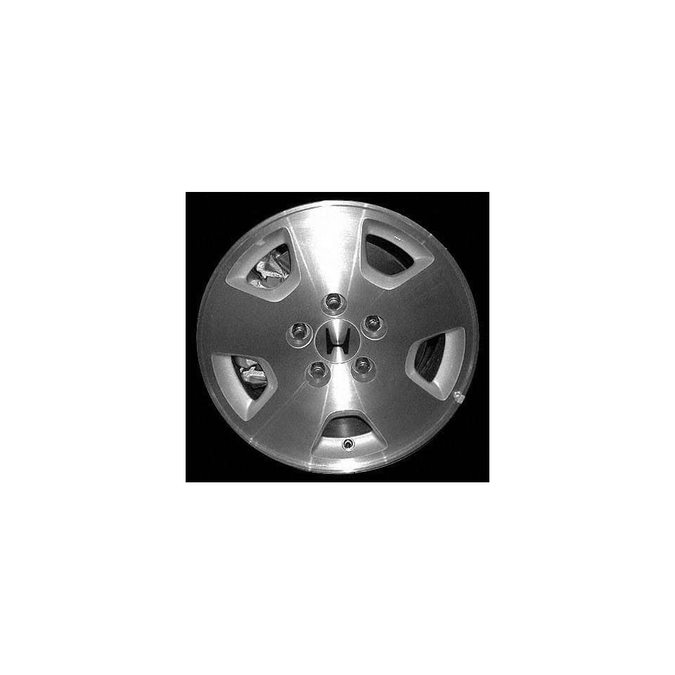01 02 HONDA ACCORD SEDAN ALLOY WHEEL RIM 15 INCH, Diameter 15, Width 6.5 (5 SPOKE), MLI manufacture, MACHINED FACE, 1 Piece Only, Remanufactured (2001 01 2002 02) ALY63836U10