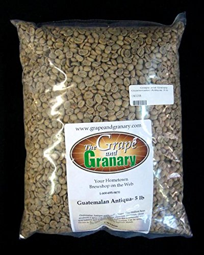 Guatemalan Antiqua unroasted Coffee Beans (5LB)