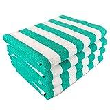 #8: California Cabana Striped Oversized Beach Towel   Set of Four Extra Large 30