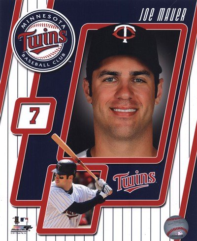Joe Mauer Studio - 2011 Joe Mauer Studio Plus - 8x10 Inches - Art Print Poster