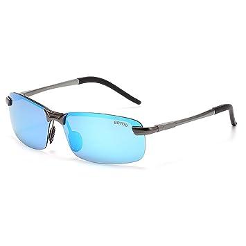 BOYOU Polarisierte Sport Sonnenbrillen für Frauen und Männer beim Radfahren Campingsport mit UV400 Schutz 02ItkGbb