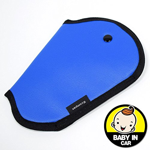 Baby Car Seat Belt Cover (Blue) - 1