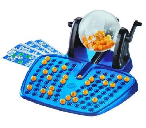Bingo New Big Fun Large Play Set Adult Game Fun Bigo Cards Balls Chips in Colour -