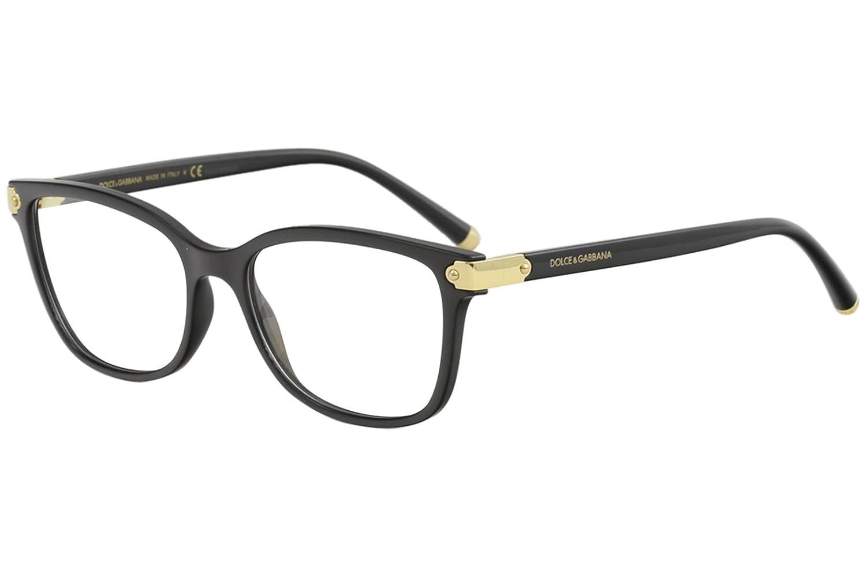 Dolce & Gabbana Eyeglasses D&G DG5036 DG/5036 501 Black/Gold Optical Frame 53mm Dolce&Gabbana 0DG5036