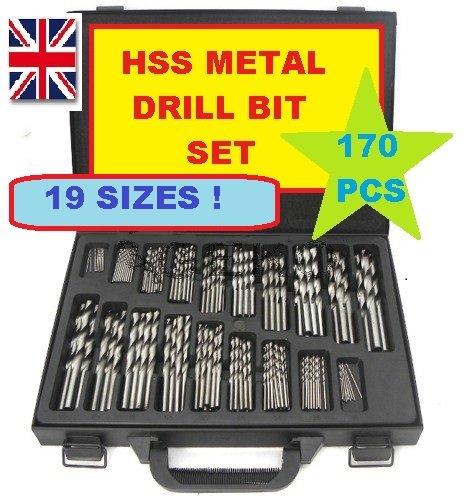 Geko G38220 Hss Drill Set (Pack of 4) Firma Handlowa GEKO
