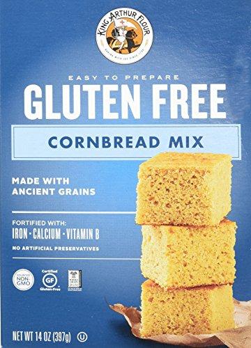 King Arthur Flour Gluten-Free Cornbread Mix, 14 Ounce