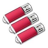 KOOTION 3 Pack 32 GB Flash Drive 32GB USB 2.0 Flash Drive 32G Memory Stick Thumb Drives