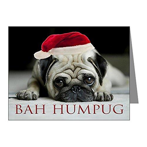CafePress - Pug Christmas Cards (Pk of 10)
