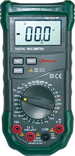 ange Digital LCR Meter with Full Featured Multimeter with High Accuracy, Mastech MS8269 (Full Range Digital Thermometer)