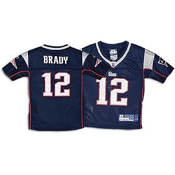 Amazon.com   Reebok New England Patriots Tom Brady Toddler Replica ... df351dc45