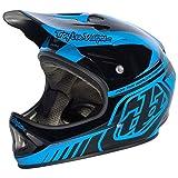 Troy Lee TroyLee D2 Visor Delta Blue/Black Helmets Downhill Greys