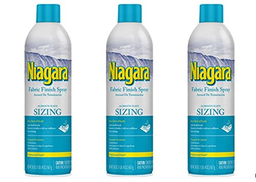 Fabric Finish (Niagara Fabric Finish Sizing Spray 20oz (3 Pack))