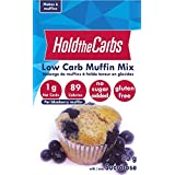 Low Carb Muffin Mix, Gluten Free, Vegan, No Added Sugar, No Preservatives, Made in Canada (makes 6 muffins)
