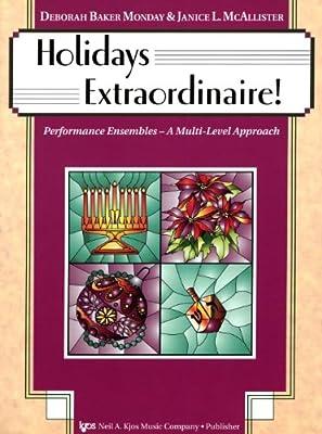 Holidays Extraordinaire! (Performance Ensembles - A Multi-Level Approach, Cello 113CO)