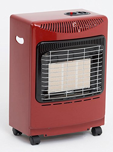 Red Mini Heat Force Gas Cabinet Heater lifestyle