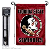 Florida State Seminoles Garden Flag with Stand Holder
