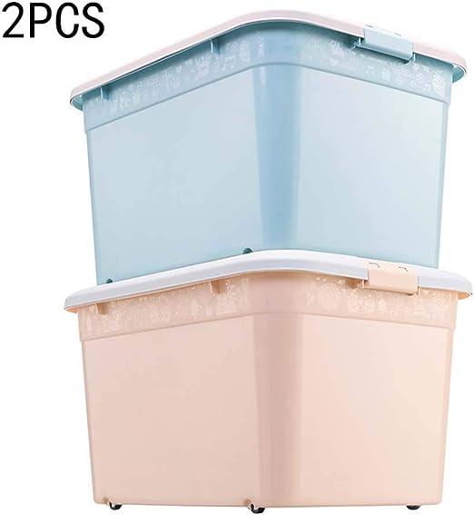 Caja de almacenamiento de plástico grande, estilo europeo, caja de ...