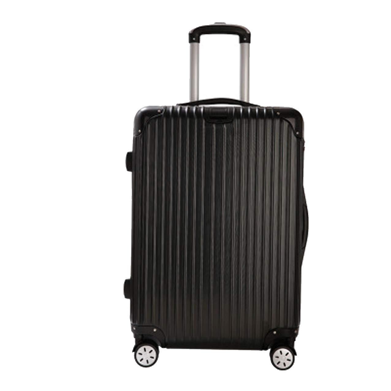 荷物、荷物、母子ボックス、トロリーケース、万能ホイールスーツケース、 Small black B07QTPW3F4