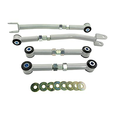 Whiteline KTA124 Rear Control Arm Assembly,Black: Automotive