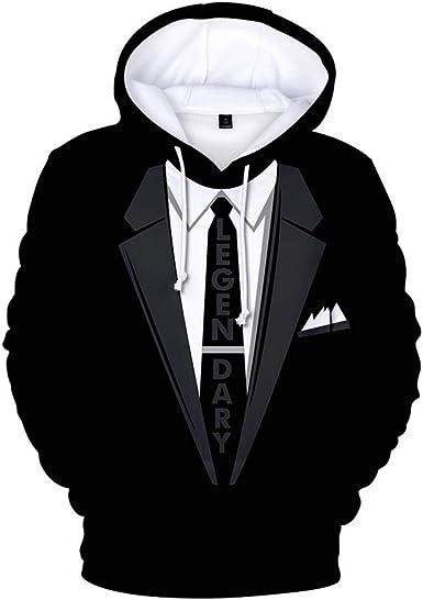 Sweater Tuxedo Costume Men/'s Black