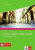 Curso nuevo, vida nueva: Competencias y estrategias. Lektüre Spanisch A1-A2 mit Audio-CD