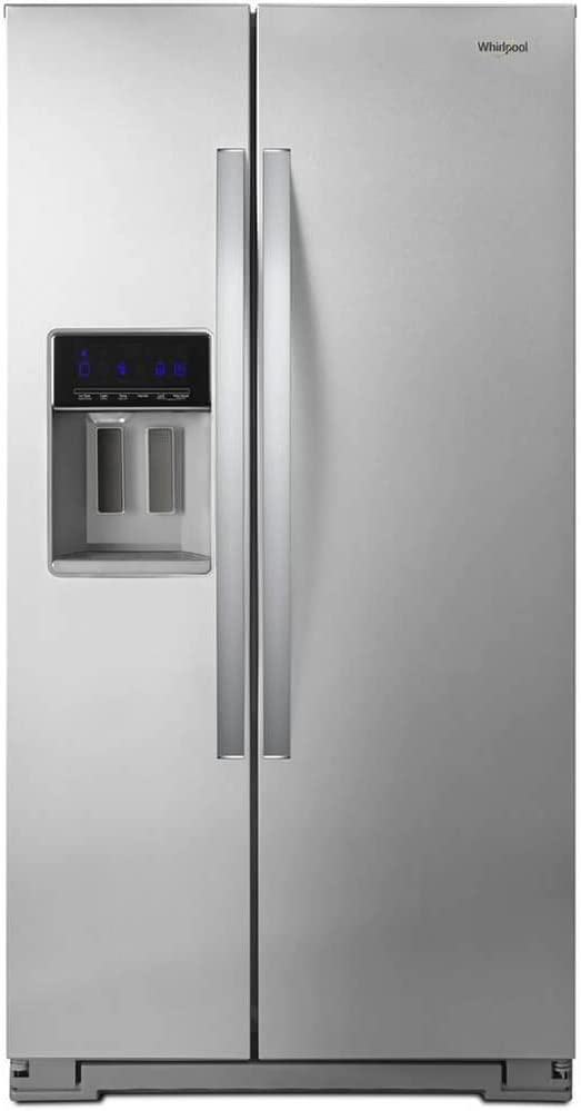 Whirlpool WRS571CIHZ 21 Cu. Ft. Stainless Counter Depth Side-by-Side Refrigerator