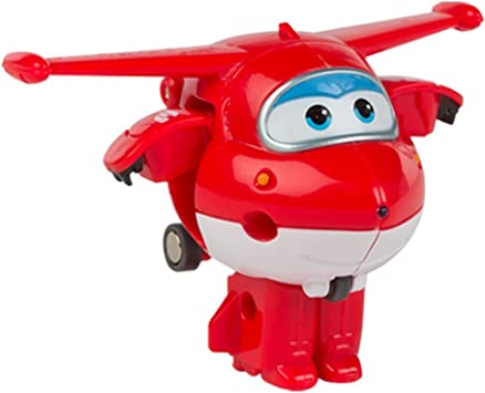 Super Wings- Jett personaje transformable (Colorbaby 75861): Amazon.es: Juguetes y juegos