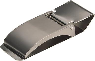 Stainless Steel Slim Pocket Cash Money Clip Credit Card Wallet Holder