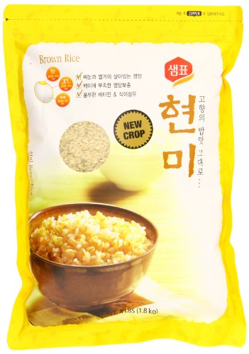 Sempio Brown Rice, 4 Pound (Pack of 8) by Sempio