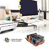 Valuetoner 564XL Remanufactured Ink Cartridges for HP 564 XL for HP Officejet 4620, Photosmart 5520 6520 7520 6515 5514 C410, Deskjet 3520 3522 Printer, 5 Pack (Black/Cyan/Magenta/Yellow/Photo Black)