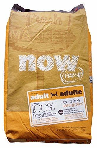 Now 152344 Fresh Grain Free Adult Dog Food 25 Pound Bag